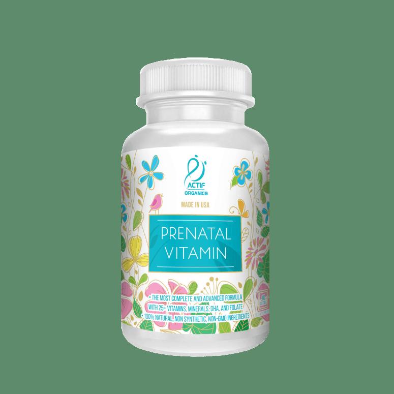 Actif Organic Prenatal Vitamin
