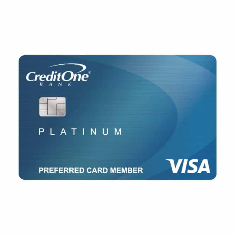 Credit One Platinum Visa Card for Rebuilding Credit