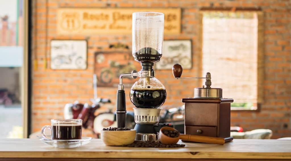 Vacuum Pot or Siphon Coffee