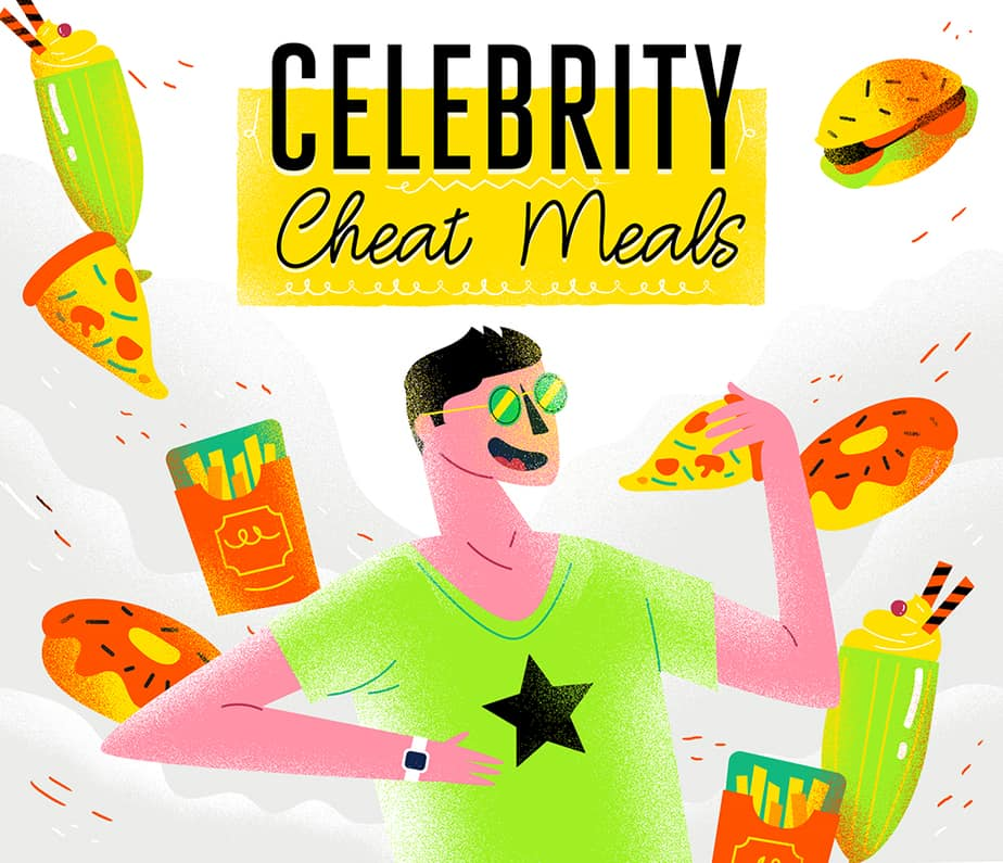 What Do Celebs Eat On Cheat Days?