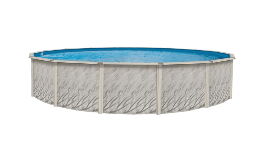 Lake Effect Meadows Reprieve 24' Round Above Ground Swimming Pool