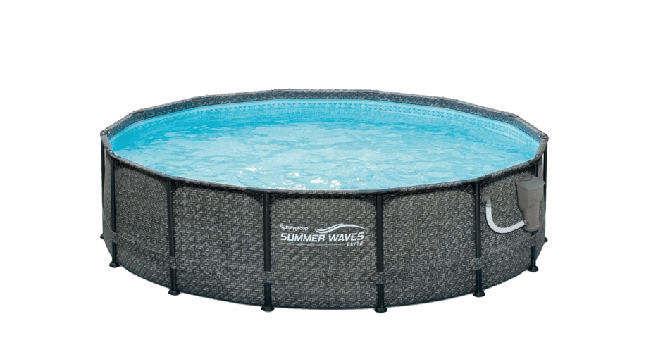 Summer Waves Round Above-Ground Swimming Pool