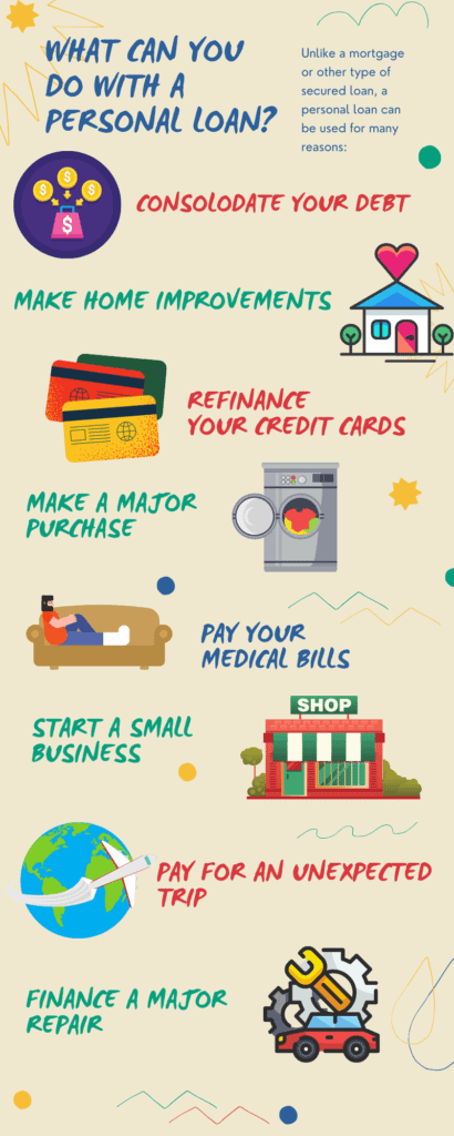 uses for personal loans