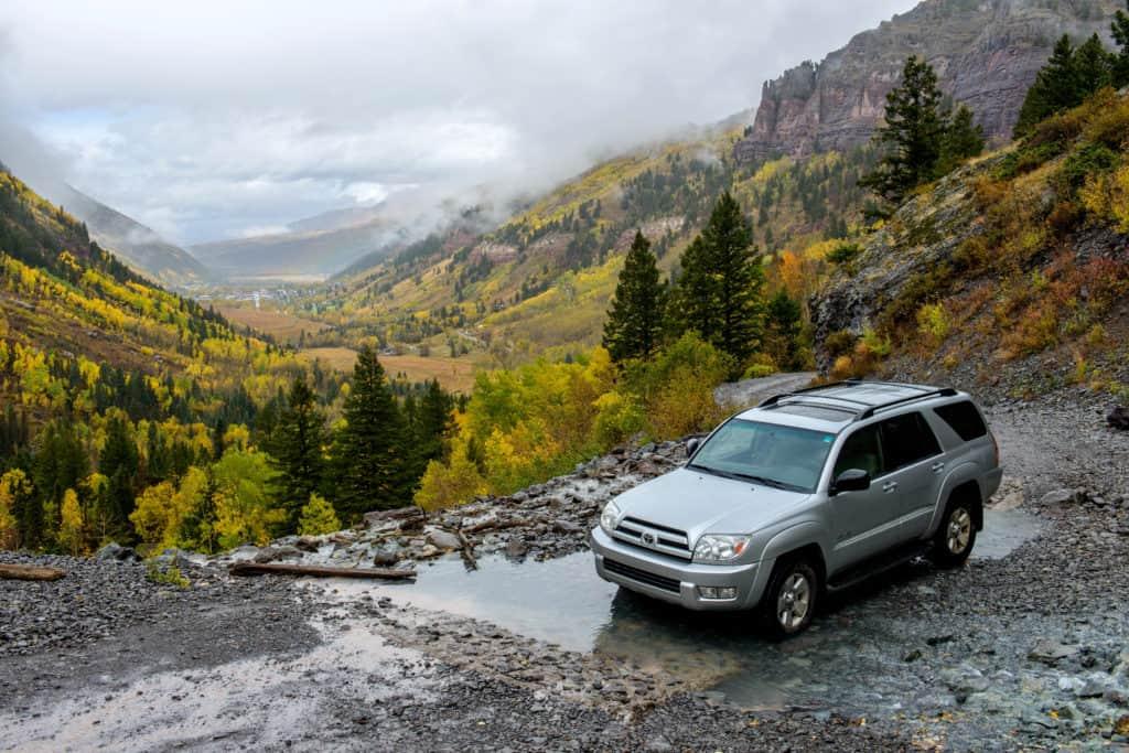 Bridal Veil Creek Trail, Telluride, CO