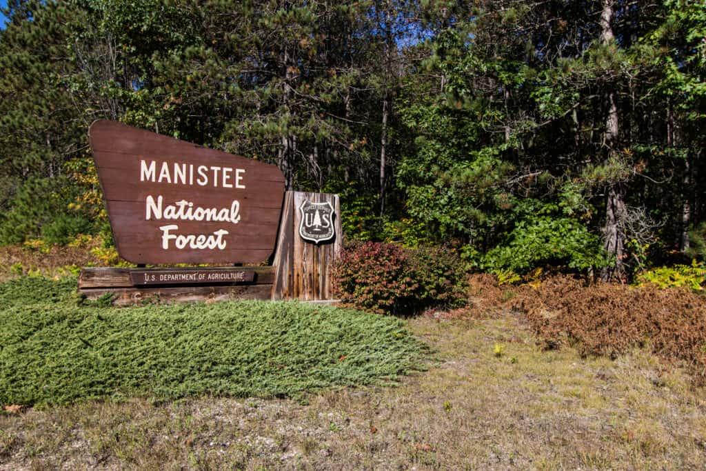 Mountain Biking Manistee National Forest